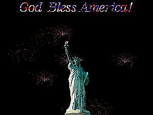 download 4th Of July (Lady Liberty) Screensaver
