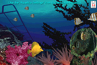 download Aquatica WaterWorlds 3.5 Screensaver