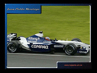 download Juan Pablo Montoya Screensaver
