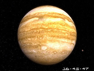 download Planet Jupiter 3D Screensaver