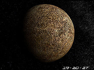 download Planet Mercury 3D Screensaver