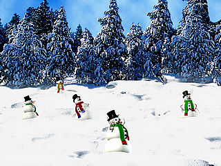 download 3D Dancing Snowman Screensaver