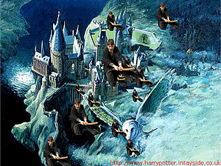 download Harry Potter Wizards Over Hogwarts Screensaver