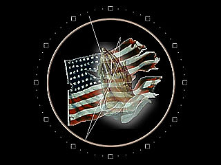 download Pray For America Clock Screensaver