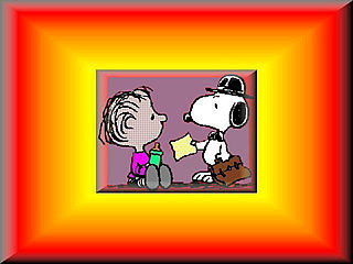 download Snoopy and Charlie Brown Screensaver
