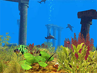 download Atlantis 3D Screensaver