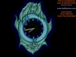 download Attache Clock Screensaver