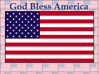 download God Bless America Screensaver by HFW