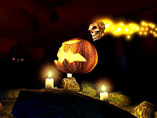download 3D Halloween Screensaver by 3planesoft