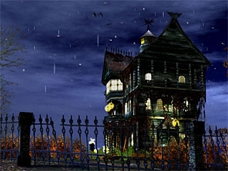 download 3D Haunted Halloween Screensaver