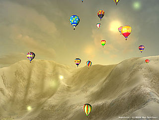 download 3D Hot Air Balloon Screensaver