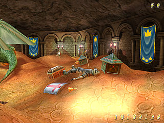 download Treasure Vault 3D v2.1 Screensaver