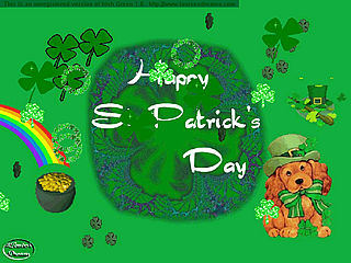 download St. Patrick's Day (Irish Green) Screensaver