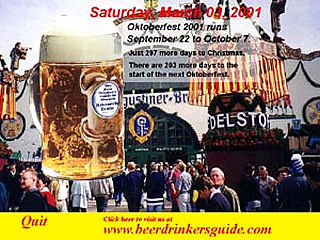download Beer Drinker's Guide Oktoberfest Screensaver