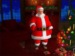 download Santa Claus 3D Screensaver