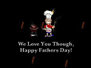 download Father's Day (Dad The Chef) Screensaver