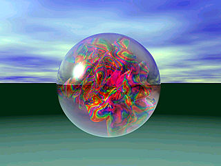 download Heavenly Spheres Paperweights Screensaver