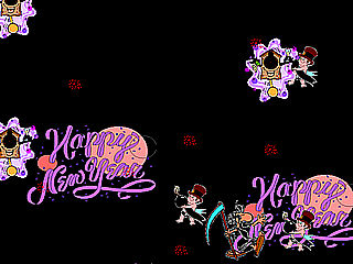 download New Year (AuldLangSyne) Screensaver