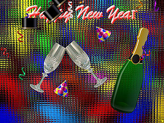 download New Year (Happy New Year, Celebrate) Screensaver